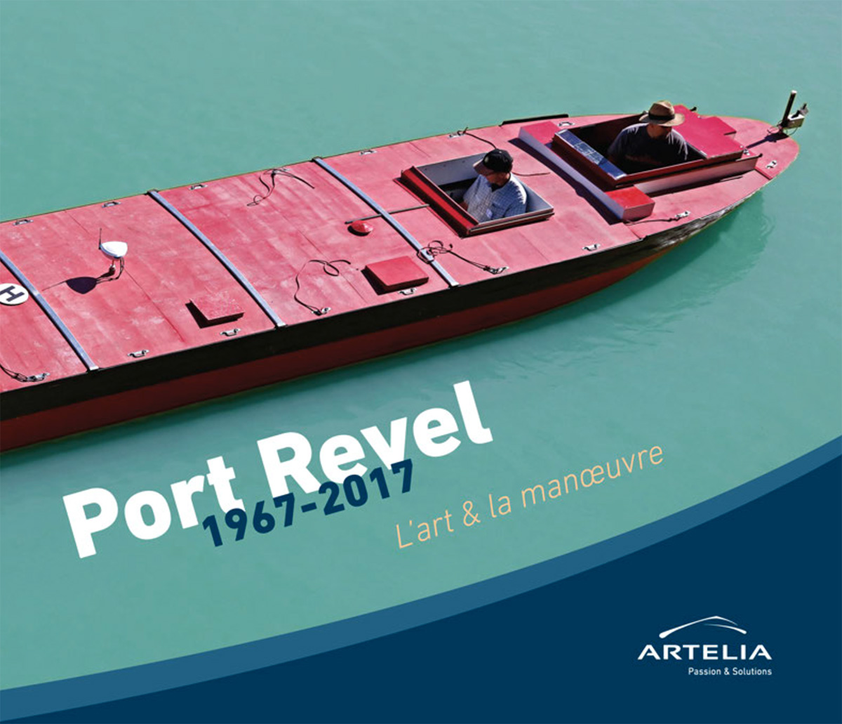Discover Port Revel's 50th anniversary book