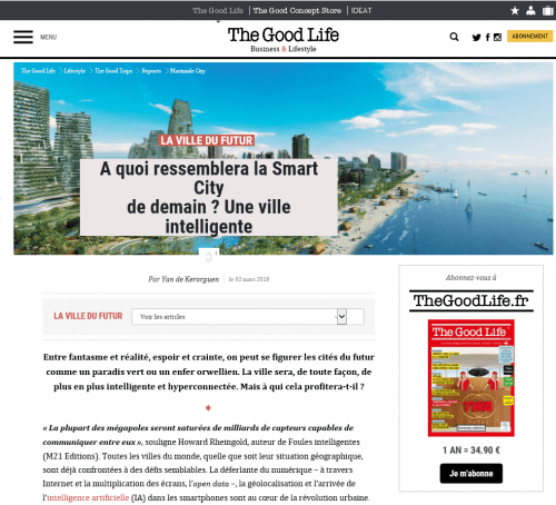 The Good Life - Smart City