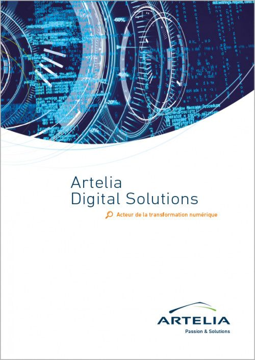 Brochure Artelia Digital Solutions