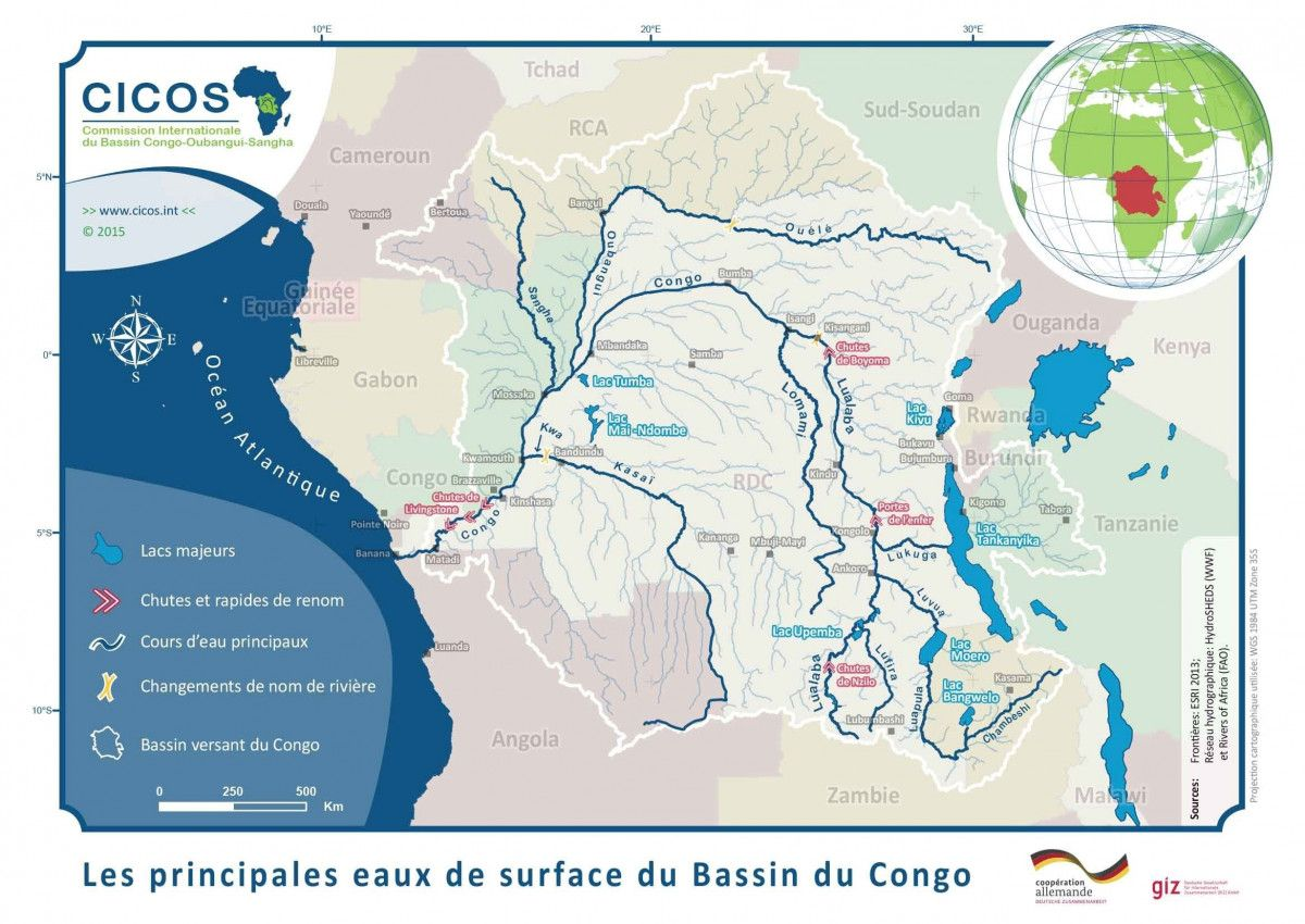 Navigation World Map.Definition Of Navigation Maps Of The Rivers Congo And Kasai