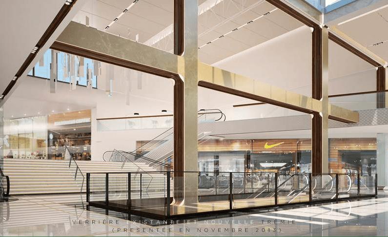 extension du centre commercial parly 2 artelia group artelia un leader europ en de l. Black Bedroom Furniture Sets. Home Design Ideas