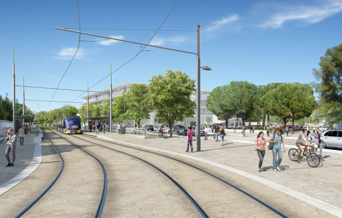 Montpellier's fifth tram line