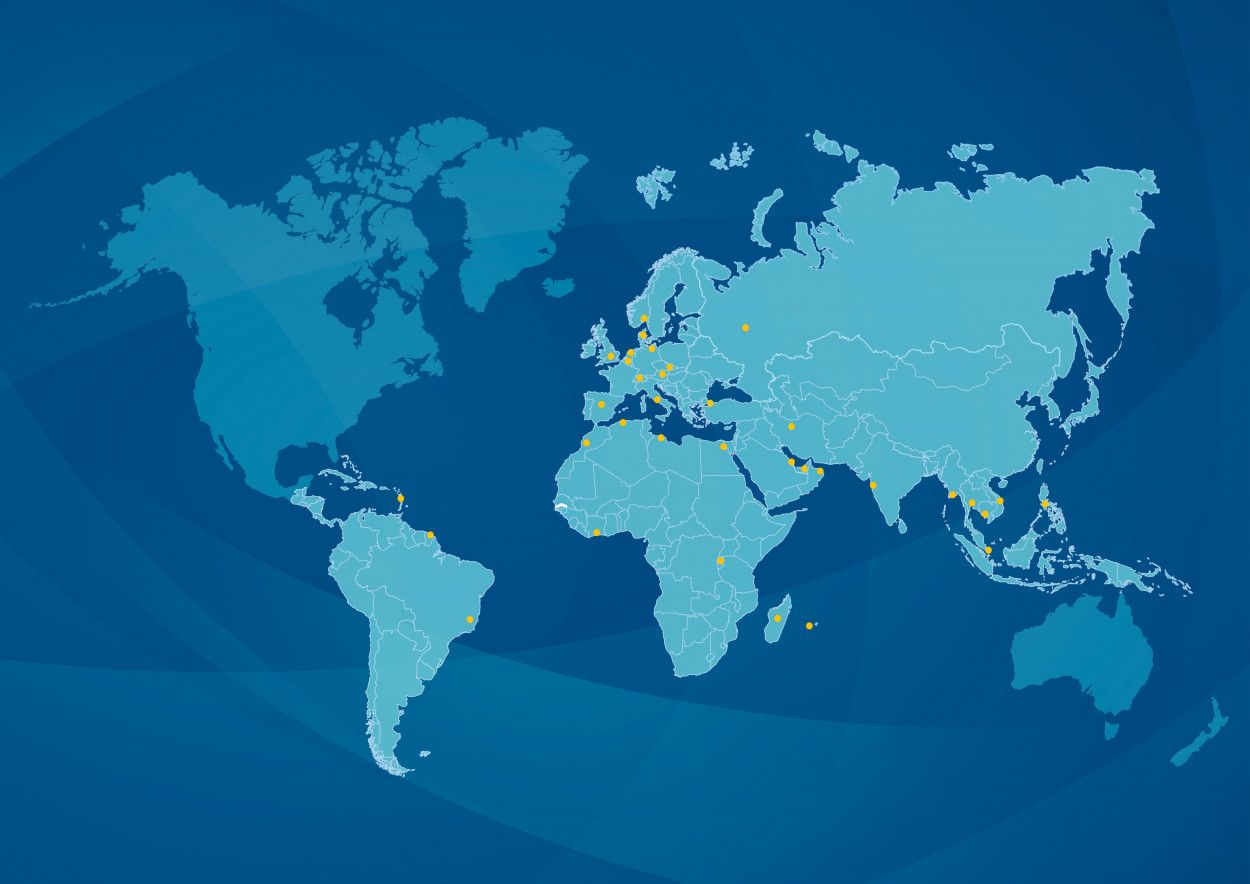 4900 employees, 35 countries worldwide