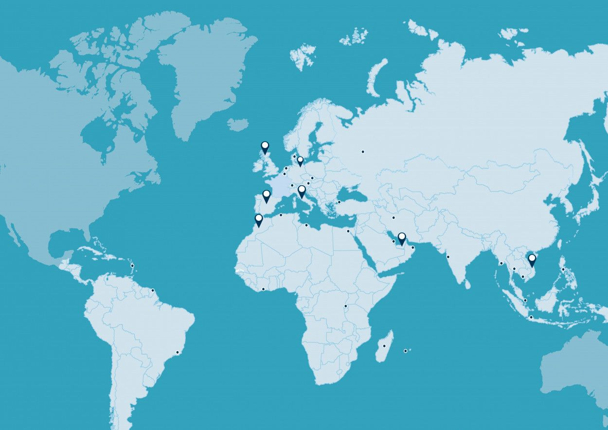 4900 employees, 30 countries worldwide