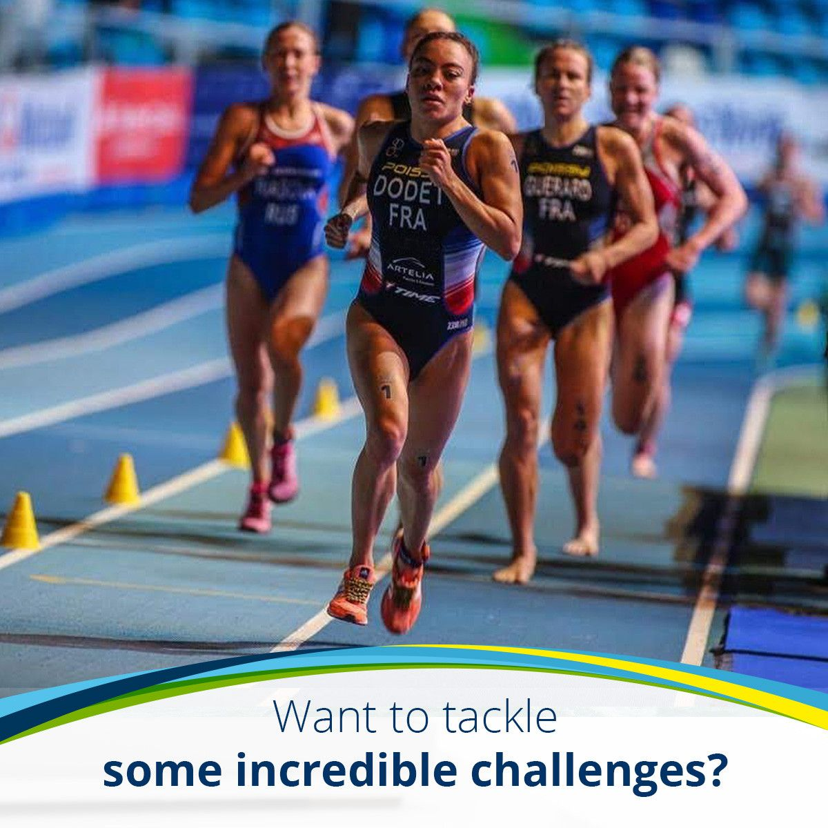 Want to tackle some incredible challenges?
