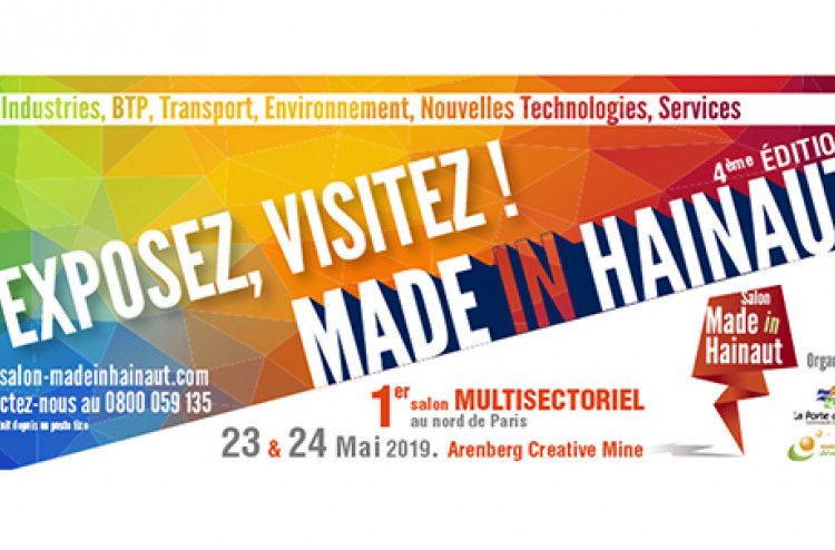 Made in Hainaut exhibition