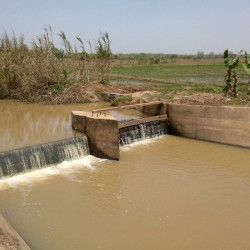 Rehabilitation of four irrigation dams and development of the plains located downstream