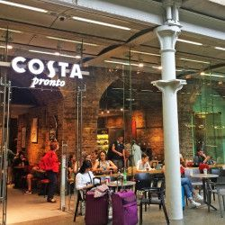 Developing Costa coffee retail network