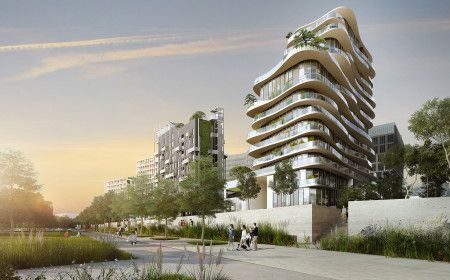 Construction of a mixed-use property - Les Batignolles urban development zone